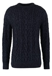 Superdry Jacob Heritage Jumper Navy Dark Blue