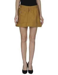 Ballantyne Mini Skirts Camel