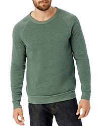 Alternative Apparel The Champ Fleece Crewneck Sweatshirt Ectru Dust