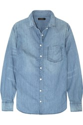 J.Crew Always Cotton Chambray Shirt Light Denim