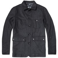 Sophnet. Wool Coverall Grey
