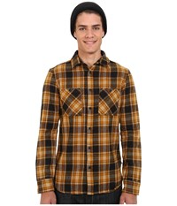 Altamont Binary Long Sleeve Flannel Black Men's Clothing