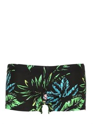Diesel Exotic Lycra Square Cut Swim Shorts