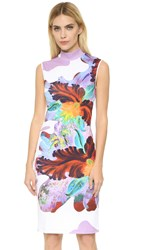 Clover Canyon Surreal Bloom Dress Lavender