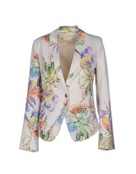 Met And Friends Suits And Jackets Blazers Women Ivory