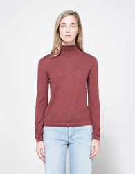 Hesperios Sussanah Turtleneck In Russet Russet Brown