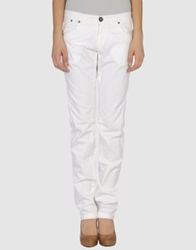 One Seven Two Casual Pants White