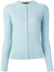 Marc By Marc Jacobs Fitted Cardigan Blue