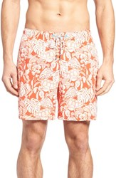 Tommy Bahama Men's Big And Tall Naples Turtle Cove Swim Trunks Lava Flow