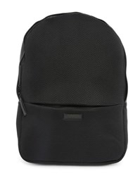 Rains Black Waterproof Backpack Mesh Bag