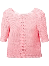 Lala Berlin 'Gaby' Sweater Pink And Purple