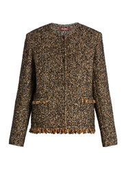 Max Mara Marzo Jacket Brown Multi