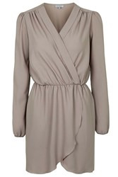 Long Sleeve Wrap Dress By Love Camel