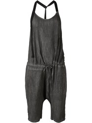 Lost And Found Ria Dunn Suspender Jumpsuit Grey