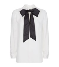 Valentino Bow Tie Blouse Female