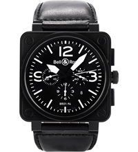 Bell And Ross Br0194 Bl Ca Aviation Watch
