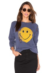 Mother The Square Sweatshirt Slate