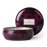 Voluspa Japonica 3 Wick Candle In Tin Santiago Huckleberry