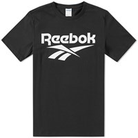 Reebok Chest Vector Graphic Tee Black