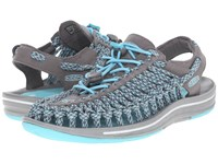 Keen Uneek Flat Capri Camo Women's Shoes Blue