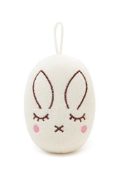Forever 21 Bunny Bath Loofah White