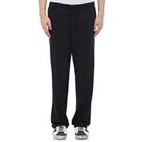 Golden Goose Chalk Striped Trousers Navy