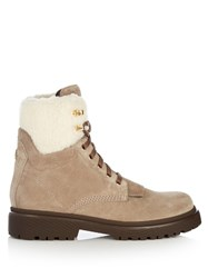 Moncler Patty Ankle Boots Beige