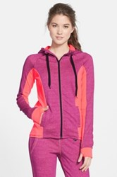 Hurley Dri Fit Slim Fit Fleece Hoodie Pink