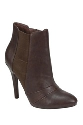 Nature Breeze Gabriella Stiletto Bootie Brown