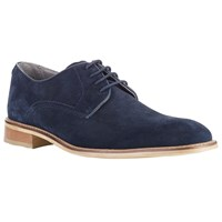 John Lewis Kin By Joel Suede Lace Up Derby Shoes Navy