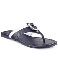 Nautica Wherry T Strap Thong Sandals Women's Shoes