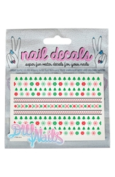 'Fair Isle' Nail Decals Nordstrom Exclusive