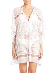 Parker Palm Coverup White