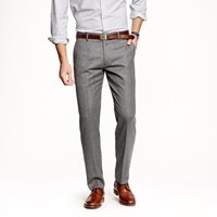 J.Crew Ludlow Suit Pant In Heathered Italian Wool Flannel