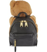Moschino Teddy Bear Backpack Brown