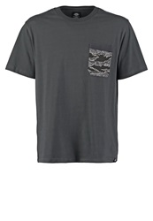 Dickies Comstock Print Tshirt Charcoal Grey