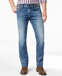 True Religion Men's Ricky Relaxed Straight Fit Flagstone Jeans