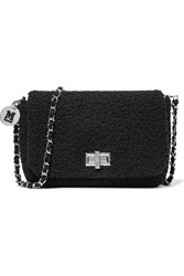 M Missoni Boucle Shoulder Bag Black