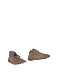 Bb Washed By Bruno Bordese Ankle Boots Dove Grey