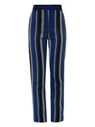 Proenza Schouler Striped Sponge Crepe Trousers