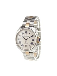 Cartier 'Cle' Analog Watch Stainless Steel