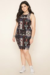Forever 21 Plus Size Paisley Dress