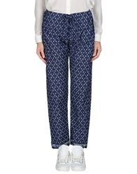 Bsbee Trousers Casual Trousers Women Blue