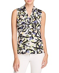 Anne Klein Triple Pleat Sleeveless Top Compare At 39 Avocado