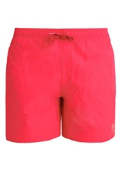 Adidas Performance Solid Swimming Shorts Rayred Powred