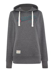 Brakeburn Pullover Hooded Sweat Shirt Grey