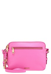 Fossil Piper Toaster Across Body Bag Neon Pink