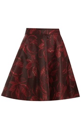 Kage Wine Short Flew Skirt