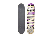 Blind Varsity Complete Purple Gold Skateboards Sports Equipment