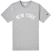 Champion Reverse Weave Usa Tee Grey